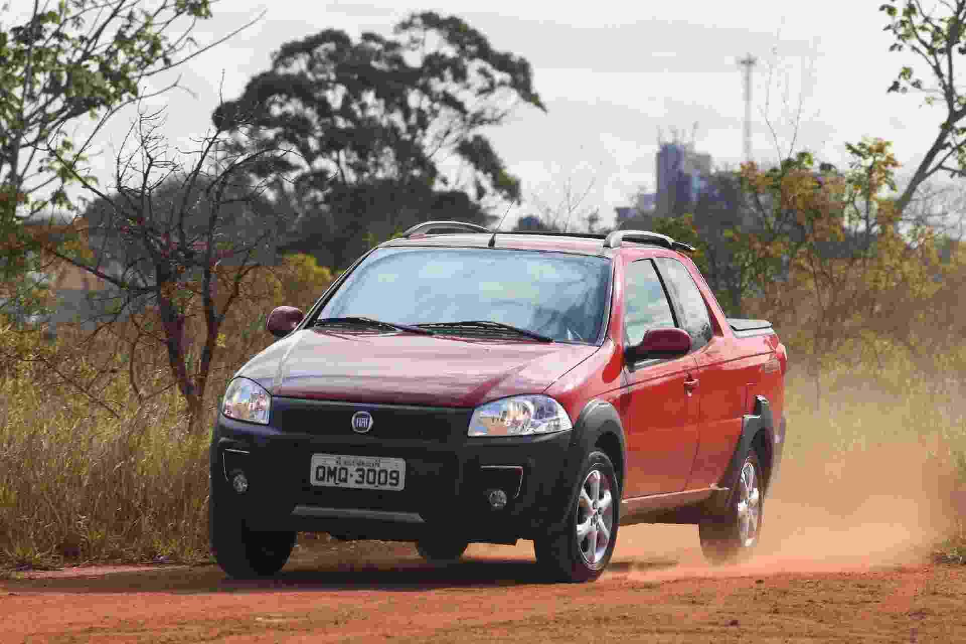 Fiat Strada CD 1.4 - Murilo Góes/UOL