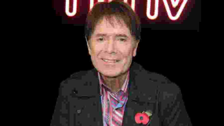 O cantor britânico Cliff Richard - Getty Images