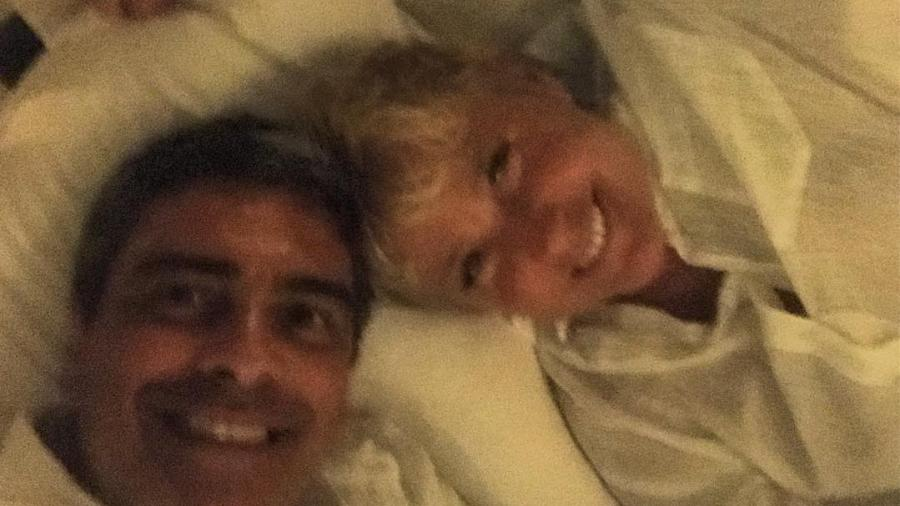 Junno Andrade e Xuxa vão completar seis anos juntos em dezembro  - Reprodução/Instagram/@junnoandrade
