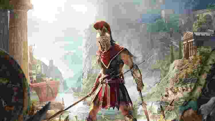 Capa Assassin's Creed Odyssey - Reprodução - Reprodução