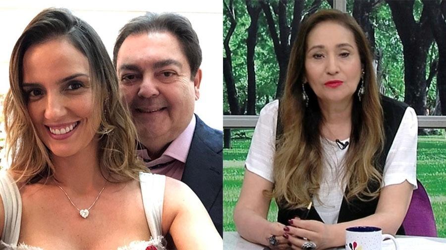 Após boatos, Luciana Cardoso, mulher de Faustão, diz apresentará pretendentes para Sônia Abrão - Reprodução/Instagram e RedeTV!
