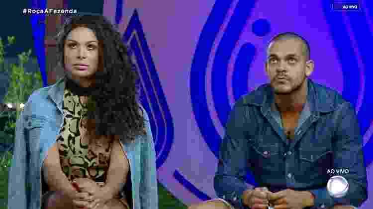 Caique e Fernanda - Reprodução/RecordTV - Reprodução/RecordTV