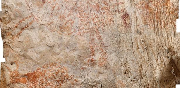 Pintura figurativa feita há 40 mil anos é encontrada na Ásia