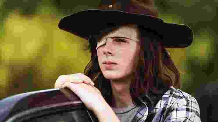 Carl de The Walking Dead - Divulgação - Divulgação
