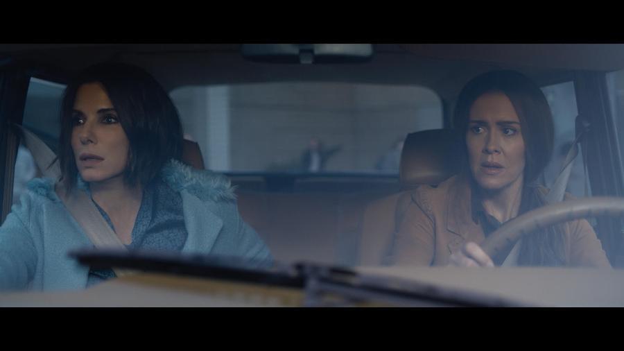 """Sandra Bullock e Sarah Paulson em cena do filme """"Bird Box"""" - Divulgação/Netflix"""