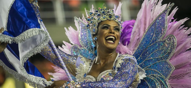 Desfile da Beija-Flor - Bruna Prado/UOL