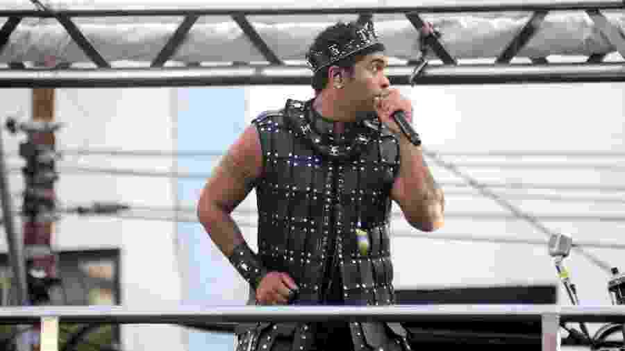 O cantor Denny Denan se apresentou no domingo no Circuito Osmar, em Salvador - Jefferson Peixoto - Secom/PMS