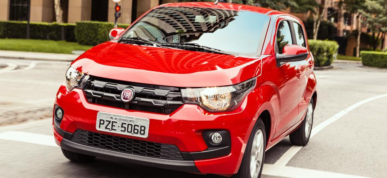 Fiat Mobi Drive GSR tem preço público sugerido de R$ 47.590, sem incluir descontos para deficientes - Divulgação
