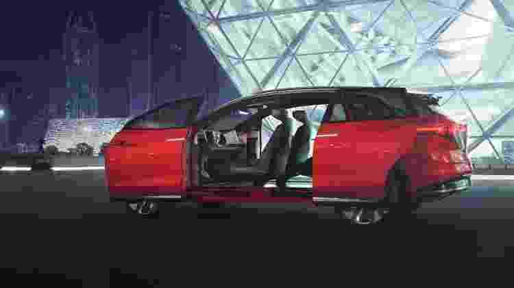 Volkswagen I.D. Roomzz Concept - Divulgação - Divulgação
