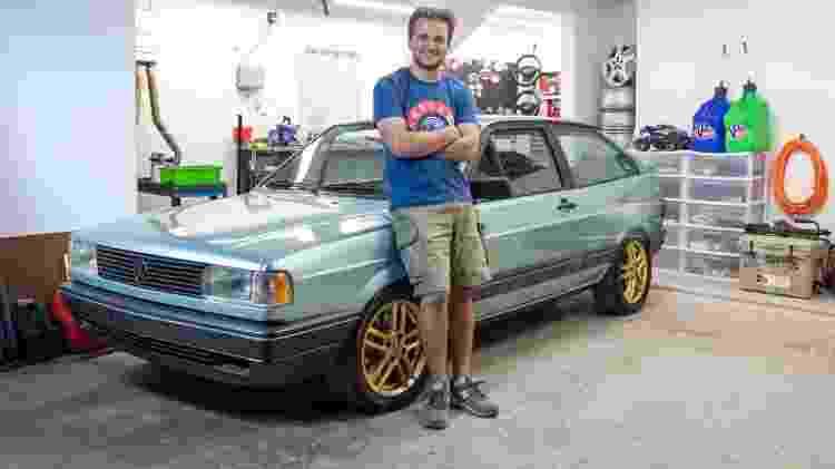 VW Gol GLR 2 - Tiago Kfouri/Acervo pessoal - Tiago Kfouri/Acervo pessoal