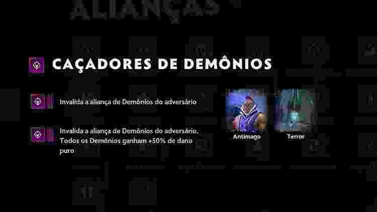 Dota Underlords - Caçadores de Demônios - Reprodução - Reprodução