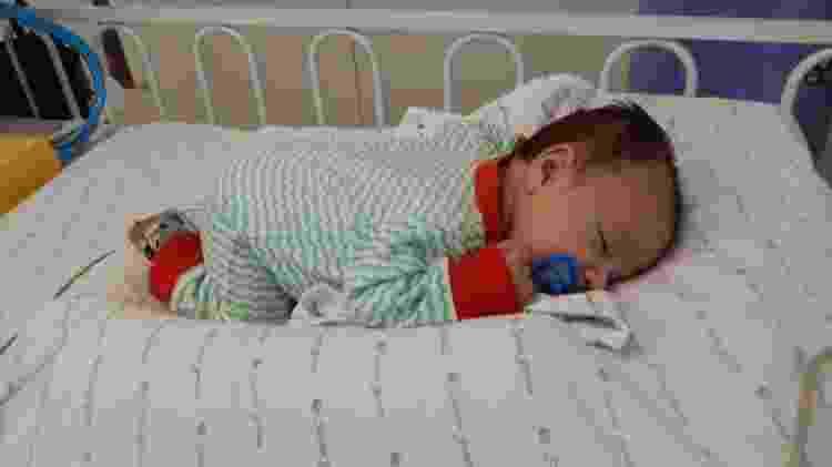 bebê no hospital - Arquivo pessoal - Arquivo pessoal