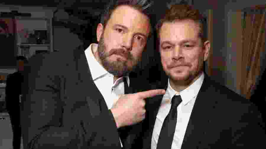 Ben Affleck e Matt Damon - Reprodução