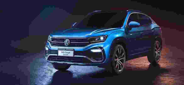 VW SUV Coupé Concept, exibido em abril no Salão de Xangai (China), dá pista sobre possível novo SUV cupê médio brasileiro - Divulgação