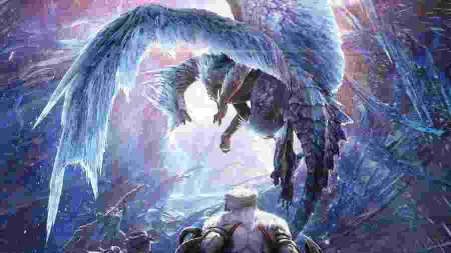 Monster Hunter é o tipo de jogo que sabe diferenciar dragões de serpes - Divulgação