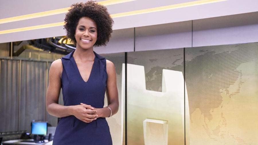 A jornalista comentou os protestos em defesa das vidas negras no Brasil e nos EUA durante o final de semana - Fábio Rocha/TV Globo