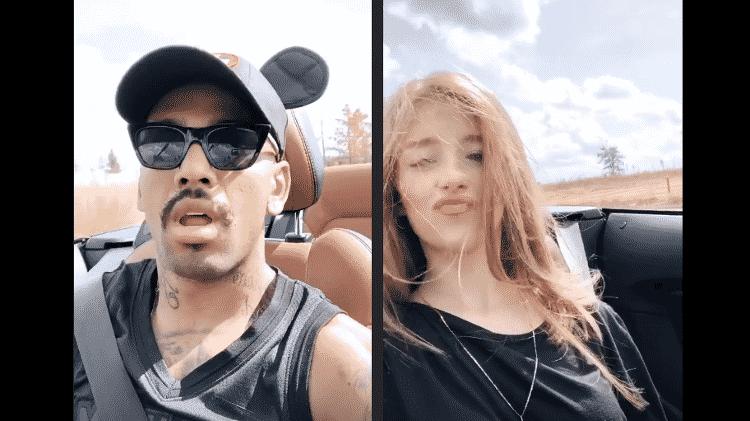 Nego do Borel ao lado da namorada, Duda Reis - Reprodução/Instagram - Reprodução/Instagram