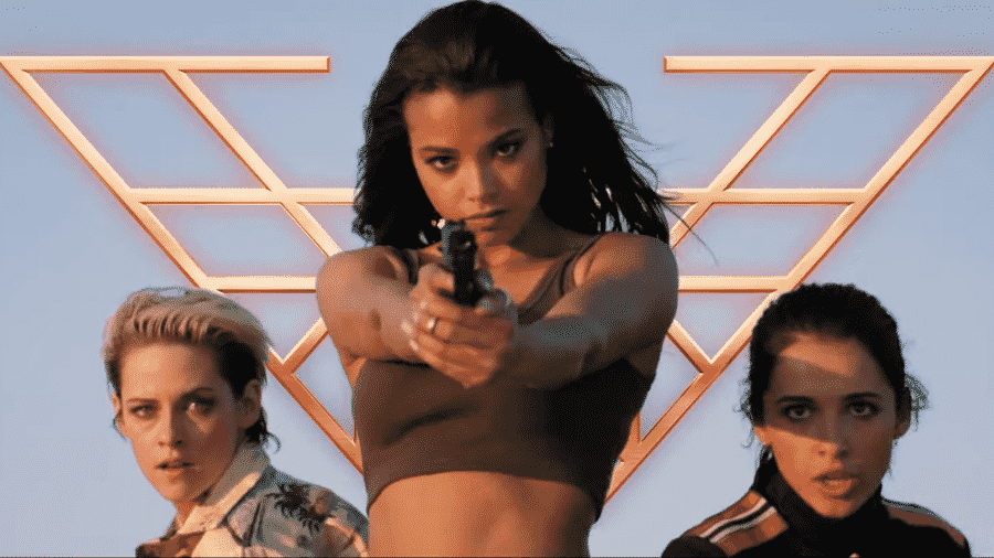 As novas protagonistas de As Panteras -- no centro, Ella Balinska - Reprodução/YouTube