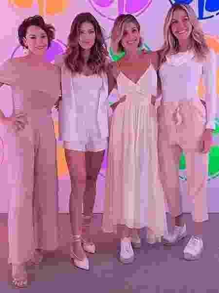 As atrizes Regiane Alves, Flávia Alessandra, Vitória Strada e Barbara Coelho - Reprodução/Instagram