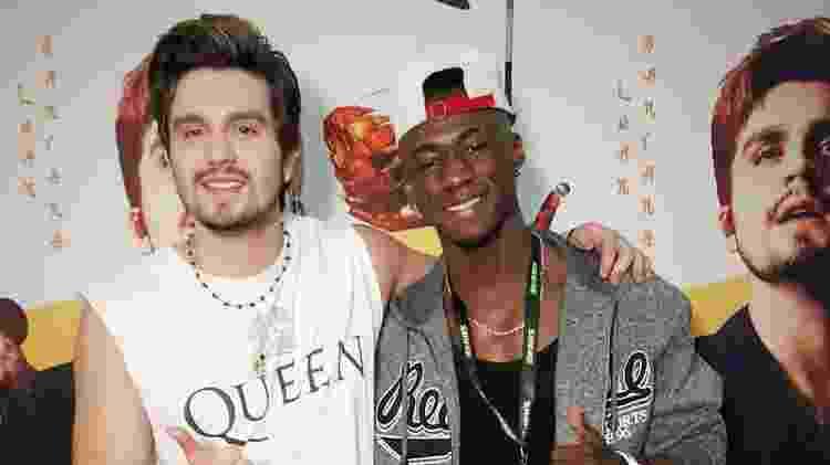 Luan Santana e Ezequiel Oliveira, o Z.E.C.K. - Reprodução/Instagram