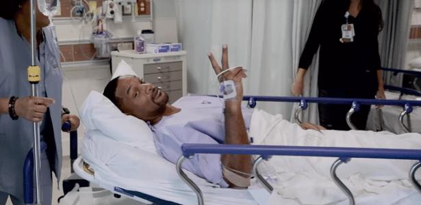 Pré-canceroso | Will Smith faz vlog de sua 1ª colonoscopia e descobre pólipo