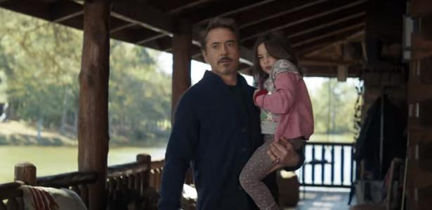 Universo Marvel | Homem de Ferro vê filha adulta em cena deletada de Vingadores