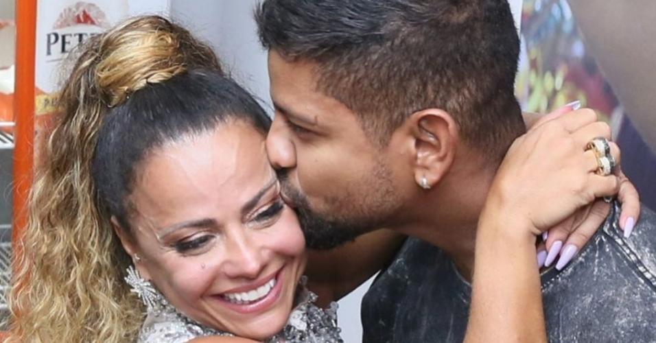 Vivianne Araújo e o namorado, Guilherme Militão