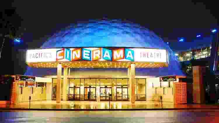 O Cinerama Dome funciona desde 1963 e ainda exibe filmes semanalmente  - Getty Images