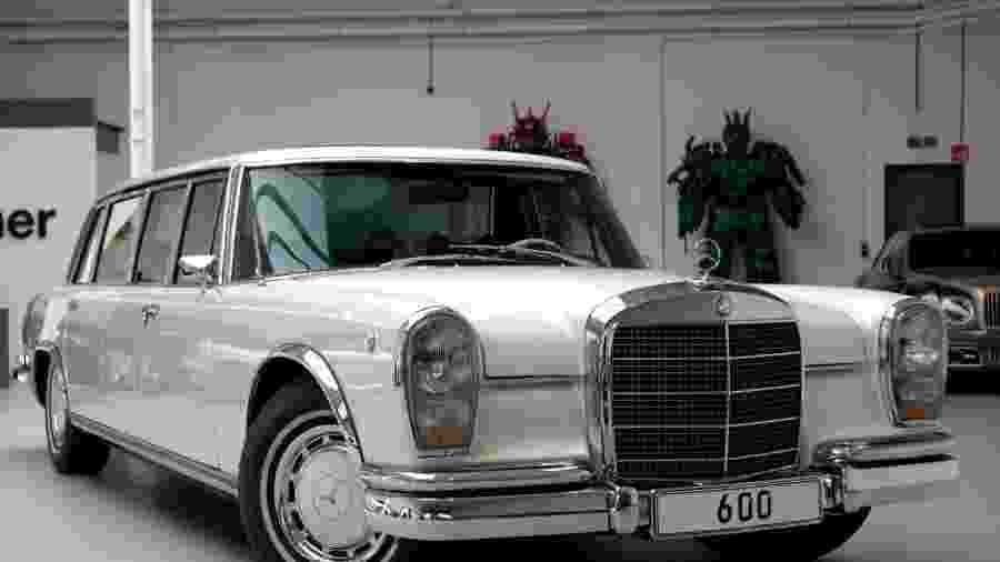 Mercedes 600 Pullman 1975 - Divulgação