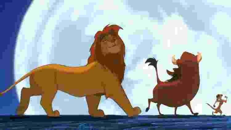 o rei leão - reprodução/Disney/The Lion King - reprodução/Disney/The Lion King