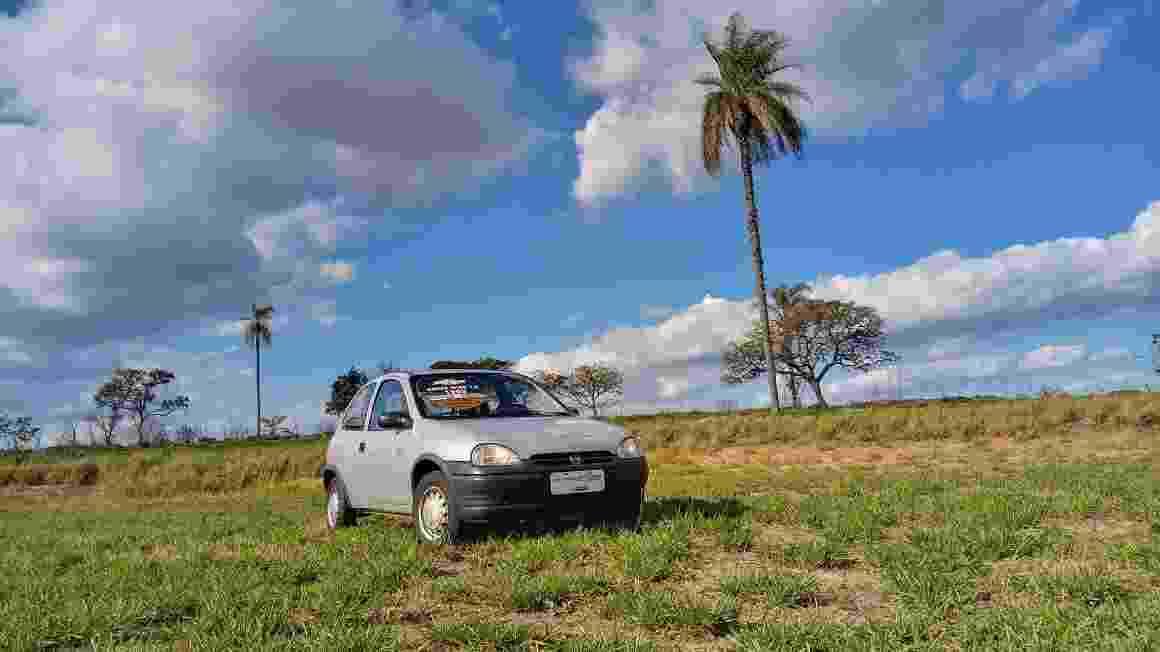 Primeiro Chevrolet Corsa fabricado no Brasil Alexandre Badolato - Rafael Morais