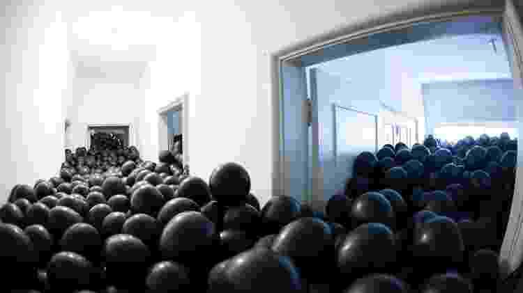 corredor de balões - Divulgação - Divulgação