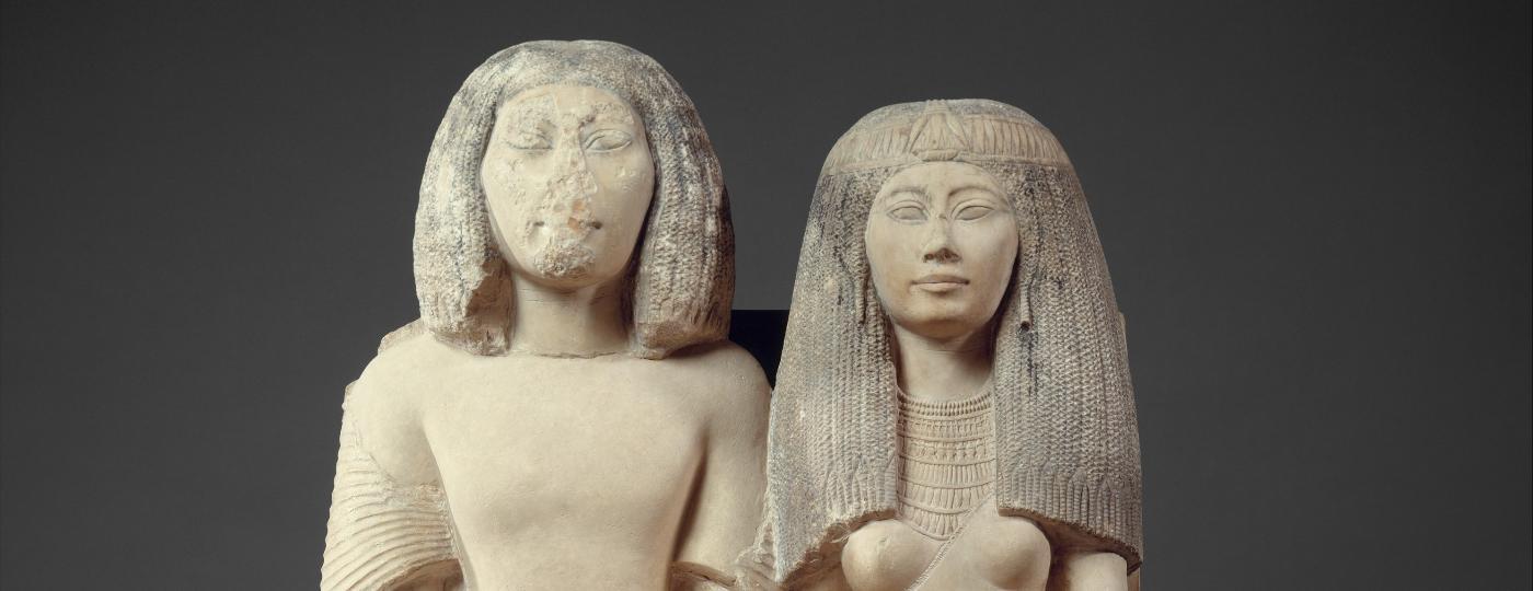 Além do nariz, você já reparou que muitas obras egípcias não tem o braço esquerdo? - Reprodução