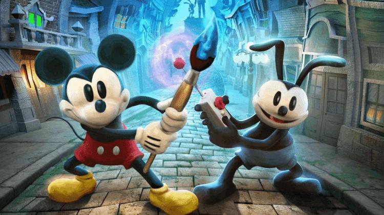 Epic Mickey 2 - Divulgação (Disney) - Divulgação (Disney)
