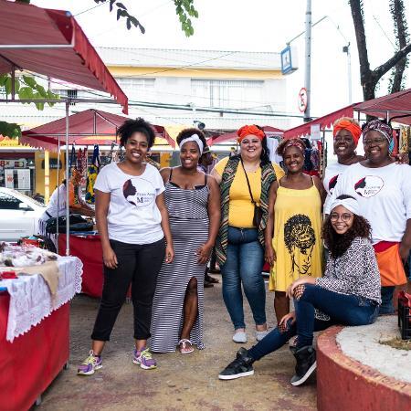 Criado em 2016, o Meninas Mahin atende 70 microempreendedoras oferencendo cursos e realizando uma feira preta na zona leste de SP - Divulgação/Agência Ophelia