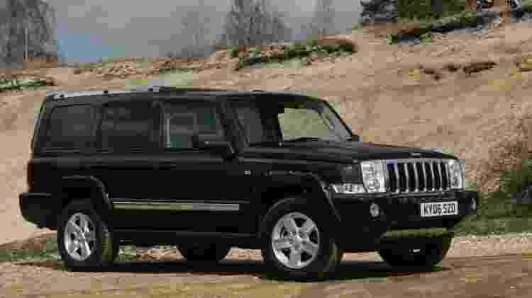 Jeep Commander do início dos anos 2000 - Divulgação - Divulgação