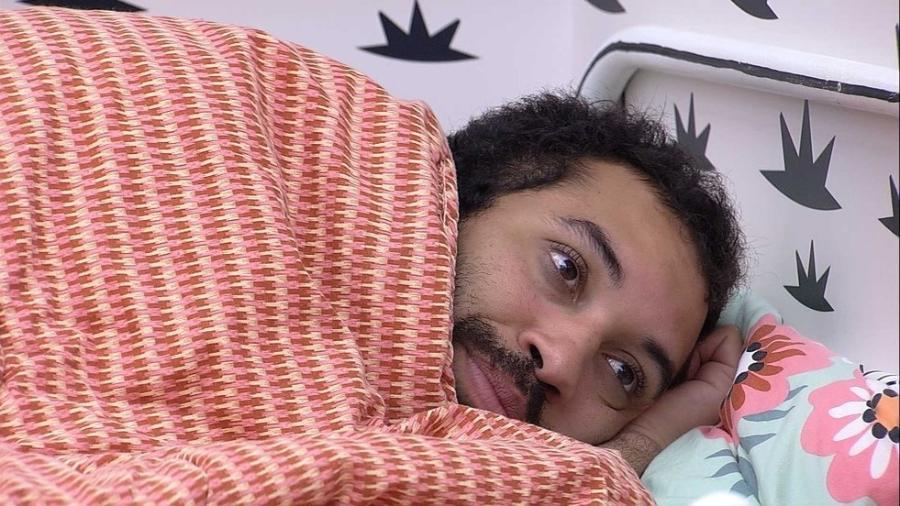 BBB 21: Gilberto no quarto cordel - Reprodução/Globoplay