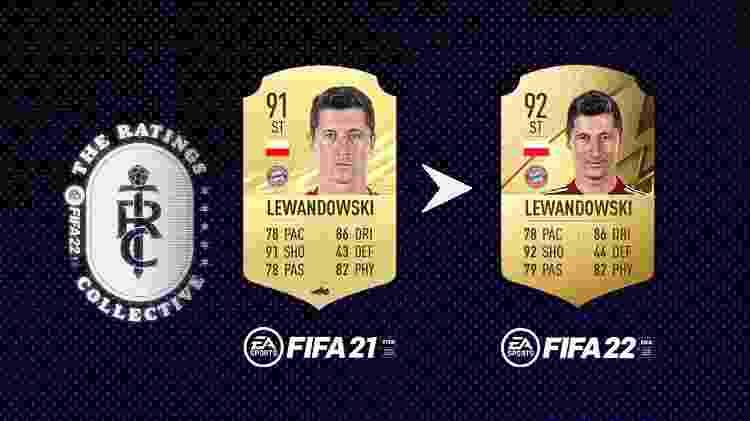 Lewa - Divulgação/EA Sports - Divulgação/EA Sports