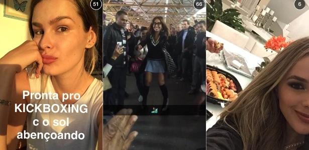 Yasmin Brunet, Sabrina Sato e Thaeme são algumas das famosas que aderiram ao Snapchat