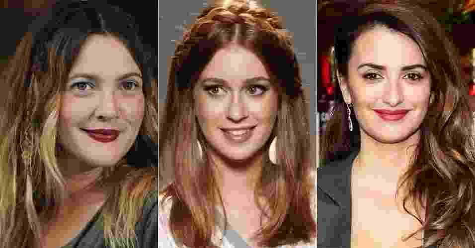 Apesar da maioria das mulheres optarem por sair de casa no dia a dia com os cabelos soltos, existem opções de penteados simples, que mantém os fios caídos, mas com charminhos para variar o visual. Veja a seguir, 20 opções de penteados das famosas com cabelo solto - Getty Images e Agnews