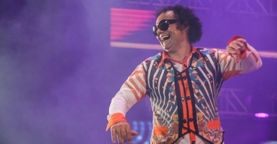 5.fev.2016 - Mestro Forró no Marco Zero, que abriu oficialmente o Carnaval do Recife