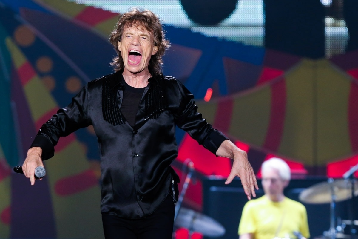 27.fev.2016 - Os Rolling Stones fizeram o segundo show da turnê