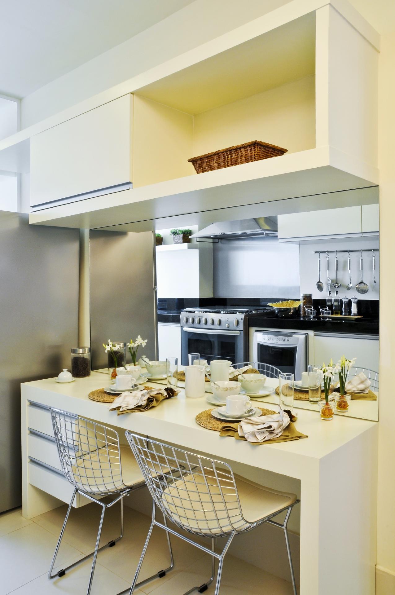 Inspire Se Em Modelos De Cozinha Para Decorar A Sua Bol Fotos  ~ Divisoria Para Cozinha E Sala