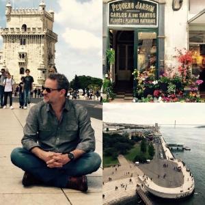 """Dan Stulbach grava a série """"História Não Escrita"""" em Portugal - Reprodução/Facebook"""