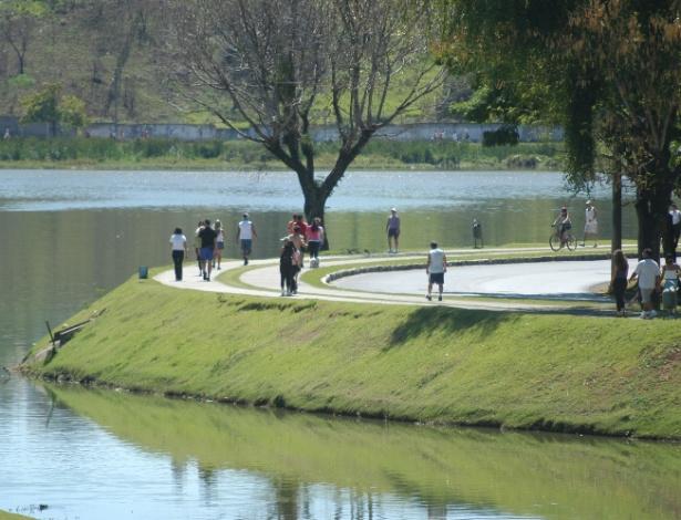 Orla da Lagoa da Pampulha - Divulgação