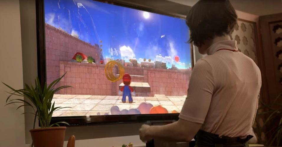 """De surpresa, o primeiro vídeo do Switch mostrou um novo """"Super Mario"""""""