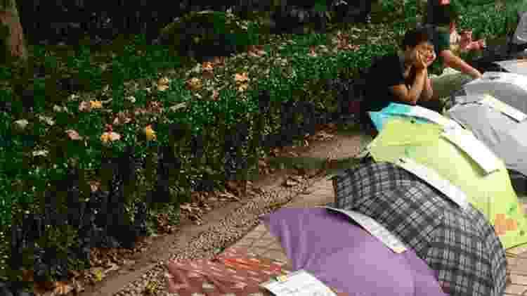 """Maior parte dos """"anunciantes"""" em Xangai são idosos que querem casar seus filhos e filhas - Mariana Schreiber/BBC Brasil/Reprodução - Mariana Schreiber/BBC Brasil/Reprodução"""