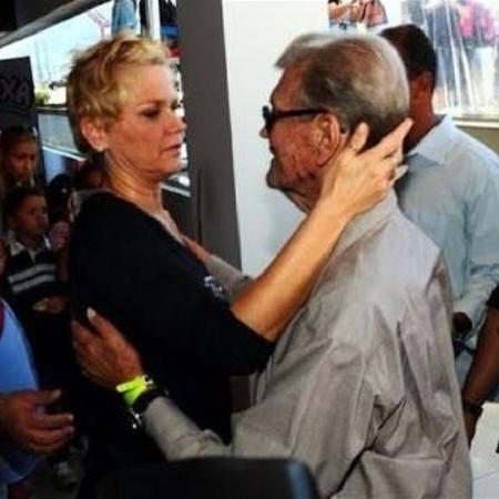Xuxa publicou foto com o pai, Luiz Meneghel - Reprodução/Instagram/xuxamenegheloficial