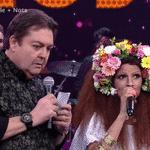 Emanuelle Araújo - Show dos Famosos - Domingão do Faustão - Reprodução/TV Globo