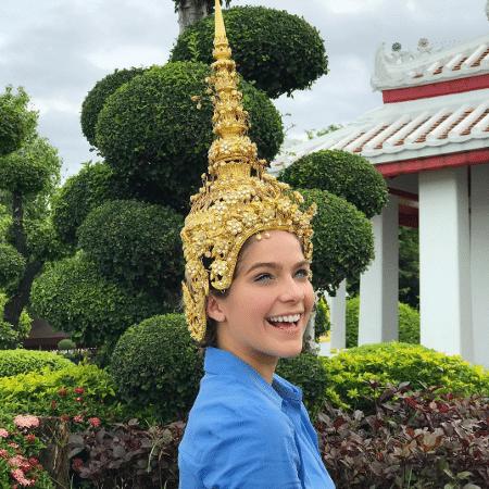 Isabella Santoni curte viagem para a Tailândia - Reproduçao/Instagram/isabellasantoni